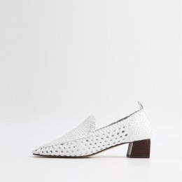 FURI Block Heel Loafers