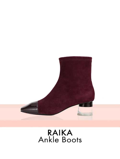 RAIKA Ankle Boots