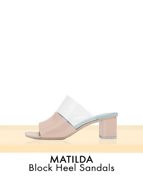 MATILDA Block Heel Sandals